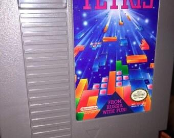 1980's NES nintendo Tetris video game RAD