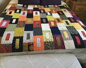 """Beautiful Handmade Quilt - """"Not So Square"""""""