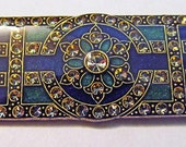 Art Deco era brooch signed by designer Catherine Popesco of France
