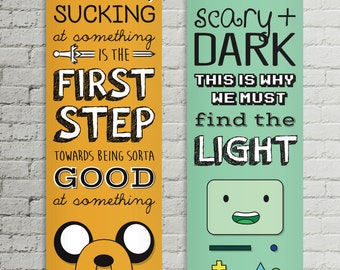 Adventure Time Quote Posters Jake & BMO