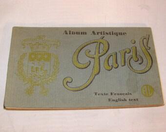 Vintage Paris France Postcards,20 different Printed in Paris Circa 1920