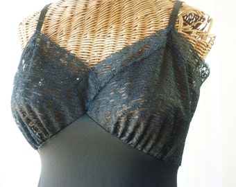 Van Raalte Opaquelon Dress Slip Six Inch Lace Hemline Mint Condition Bust 34
