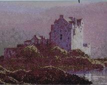 Dawn Mist at Eilean Donan - by John Clayton - Cross Stitch Chart