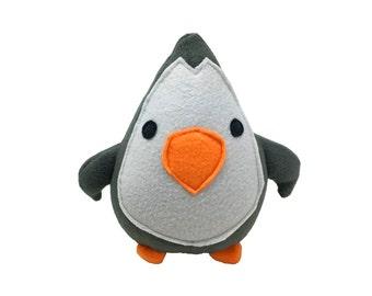 PDF pattern - penguin plush