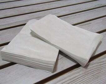 100 Pack - White Sacks (5 X 7 in )