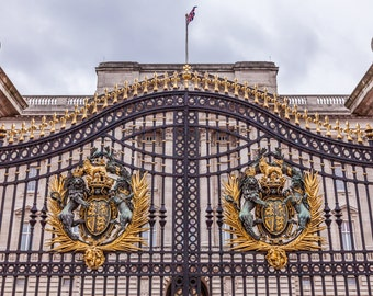 Buckingham Palace Gate London, England photography