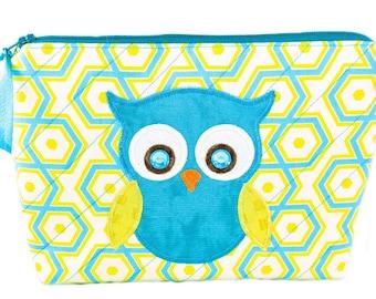 CuteMakeupBags-Owls-TravelCosmeticBag-Handmade