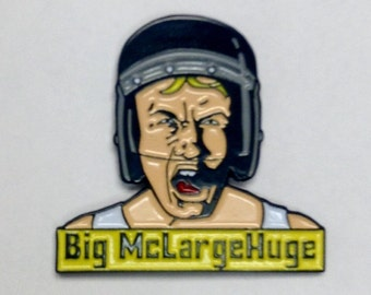 MST3K Inspired Enamel Pin - Space Mutiny Big McLargeHuge v1