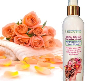 Natural Rehab Conditioner - Organic - Anti-Itch - Rehab Your Hair with Flowers & Herbs - Non Toxic - 8 oz.