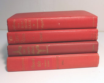 Reds Vintage Book Collection