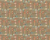 High Adventure Arrow in Tan Fabric by Riley Blake - 1 Yard