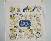 Glorious Treats of the World Flour Sack Tea Towel, Eco Friendly Inks