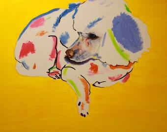 Custom Pet Portrait Painting *deposit*