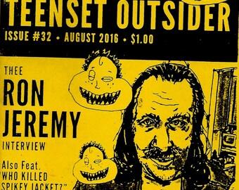 National TeenSet Outsider #32 The Ron Jeremy Interview, Chris Pittman, WKSJ Punk