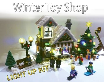 Light up kits for 10199/10249 - Winter Toy Shop - (Model not included)