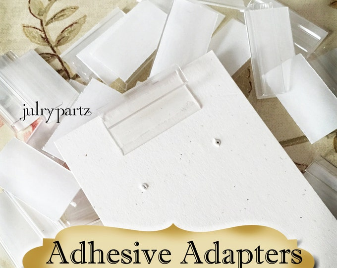 Adhesive Adapters for Jewelry Cards•Card Holders•Earring Card Adapters