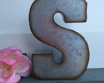 Metal Letters For Wall Decor metal wall decor letters | etsy