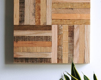 Wall Art Reclaimed Wood - Stick Pattern