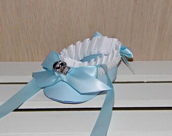 Paper Shoe, Light Blue Baby Ballet Paper Shoe Keepsake Favor