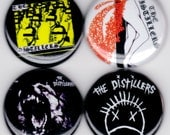 The Distillers   Sing Sing Death House Coral Fang Punk Hardcore Alternative Buttons Pins Badges Pinback