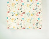 Changing Pad Cover - Luminous Field - Contoured Changing Pad Cover - Floral Changing Pad Cover