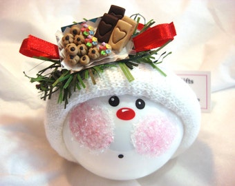 Cookie Exchange Ornament Christmas Cookie Tray Townsend Custom Gifts