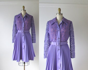 vintage 1960s dress / 60s dress / Love is All Around