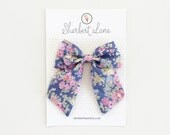 Large Sailor Bow - Tatum Floral - Liberty of London
