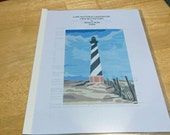 Afghan Pattern - Cape Hatteras Lighthouse Original Design - Mail only!