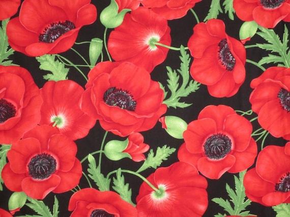 poppy print fabric - photo #12
