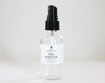 Wig Perfume | Natural Hair Fragrance for Synthetic Wigs and Hair Pieces | Vegan Mist For Wigs, Dreadlocks, Extensions and Hair Pieces