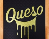 Queso poster