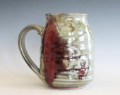 Large Coffee Mug, 21 oz, unique coffee mug, ceramic cup, handthrown mug, stoneware mug, wheel thrown pottery mug, ceramics and pottery