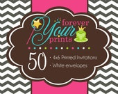 50 Professionally Printed 4 x 6 Cards - PRINTING SERVICE