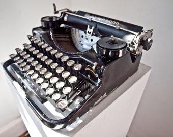Underwood Portable Typewriter  / Standard Four Bank Typewriter
