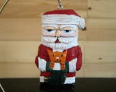 CAT SANTA ORNAMENT