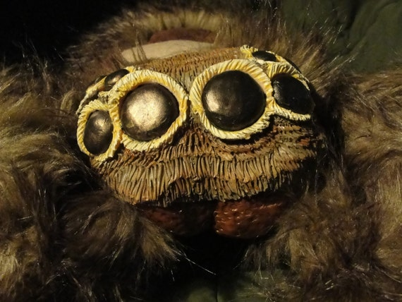 Giant Plush Jumping Spider By CMMEoW On Etsy