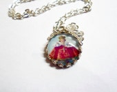 On Sale ,Infant Of Praque Necklace