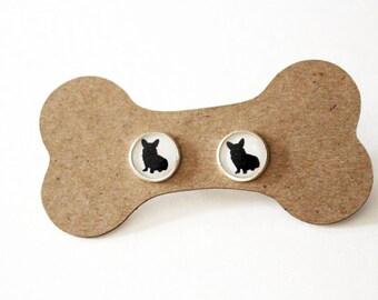 Dog Breed Earrings, stud earrings, dog breed, dog, dog earrings, dog lover