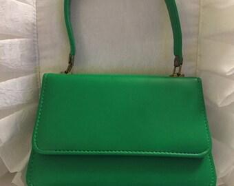 Vintage Green 60's Mod Mini Purse
