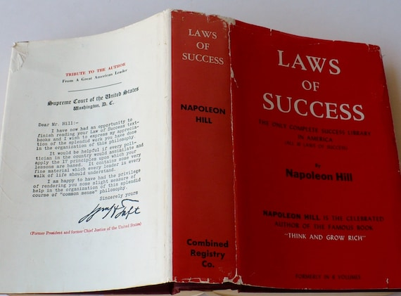 Napoleon Hill The Law of Success in Sixteen Lessons 1966