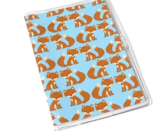 Passport Cover Foxes