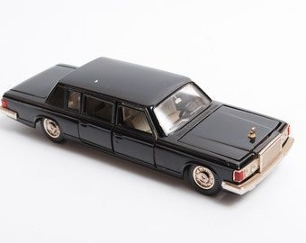 Rare vintage metal toy, car ZIL-115, 1:43, luxury automobile from the Soviet Union.