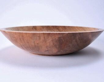 Wormy Ambrosia Maple Wooden Bowl #1481