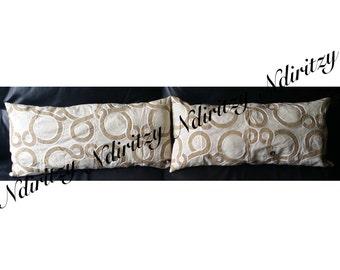 Designer Pillow, Pillow Case, Handmade Pillow, Pillow Cover, Decorative Pillow, Throw Pillow, Celerie Kemble, Schumacher, Conundrum