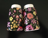 Vintage Floral Salt & Pepper Shakers