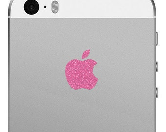 iPhone SE and iPhone 5S Apple Logo Decal - Sparking Rose