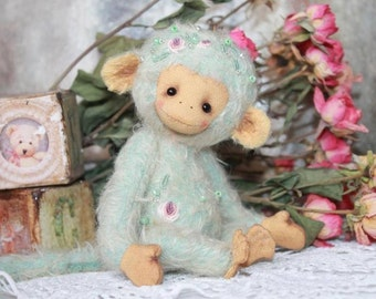 PDF File for Sewing pattern 7 Inch Monkey