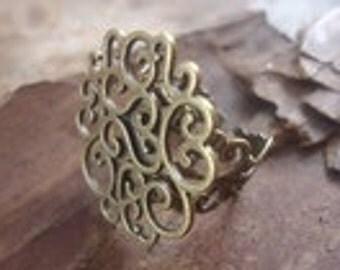 ORNAMENT RING bronze ring & Ornament (1194)