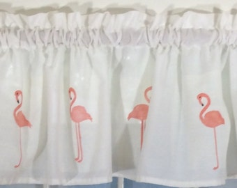 Flamingo Valance